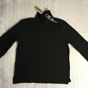 JCrew  top sweater with nautical neck closure, S